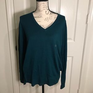 Loft large v-neck sweater